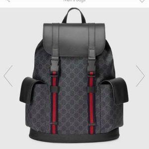 Gucci x supreme backpack
